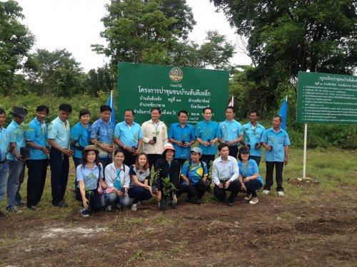 สนับสนุนโครงการปลูกป่าเฉลิมพระเกียรติสมเด็จพระนางเจ้าสิริกิติ์พระบรมราชินีนาถ