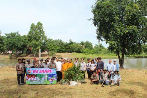 โครงการปลูกป่าเพื่อการอนุรักษ์และพัฒนาแม่น้ำป่าสัก ประจำปี 2560