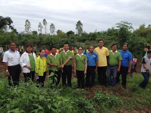 โครงการปลูกป่าเพื่อการอนุรักษ์และพัฒนาแม่น้ำป่าสัก 6 ก.ค. 2559